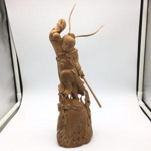 猛犸象牙冰咖齐天大圣孙悟空摆件雕刻件