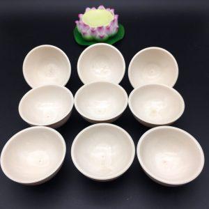 猛犸象牙茶杯3A冰料猛犸象牙满纹功夫茶杯茶具