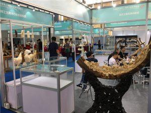 亮艺堂参与首届粤广澳大湾区工艺美术博览会