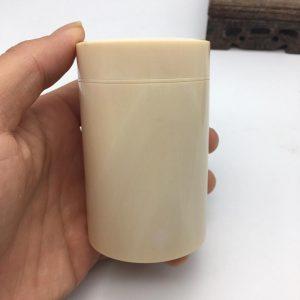 猛犸象牙茶叶罐果冻冰料猛犸象牙茶叶罐