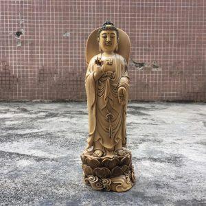 猛犸象牙大日如来摆件做旧猛犸象牙如来佛祖雕件